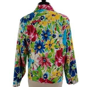 Laura Ashley floral print jacket